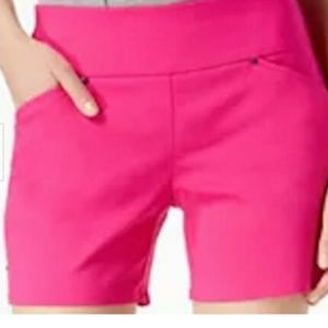 NC Curvy Pull-On Shorts Sz 4 PINK NEW WITH TAGS